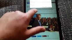 Smartphone Tablet Handy Bildschirm lässt sich nicht drehen Android