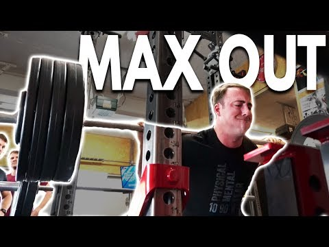 Does Coop Even Lift? | Squat, Deadlift, Bench Max Out Session