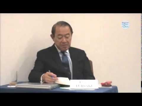 """Boston Global Forum Japan Conference: """"How to Improve Japan - China Relations"""" - P2"""