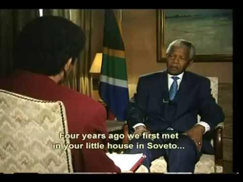 Nelson Mandela - Mithat Bereket Röportajı