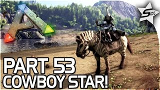NEW PS4 UPDATE COMING SOON, COWBOY STAR, LASSO! - ARK Survival Evolved PS4 Gameplay Part 53
