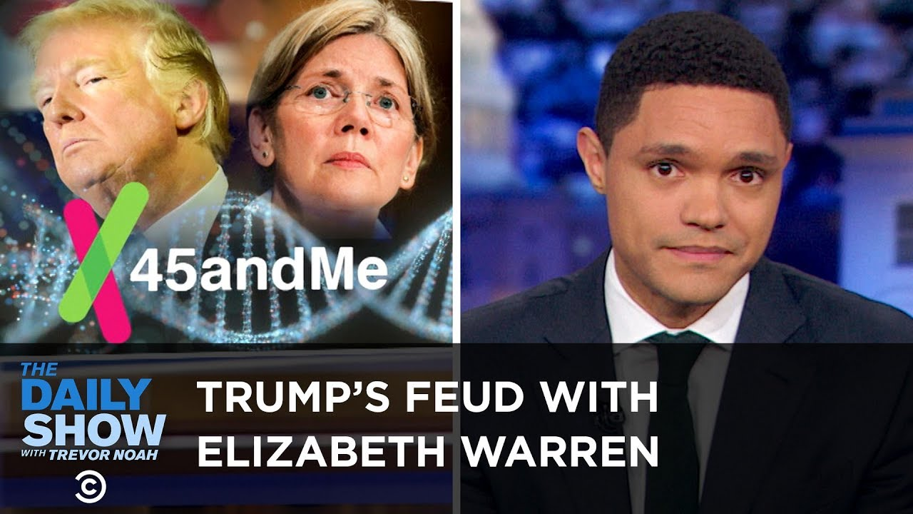 elizabeth-warren-proves-her-native-american-heritage-the-daily-show