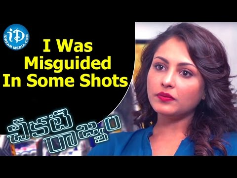 I Was Misguided In Some Shots - Madhu Shalini    Talking Movies with iDream
