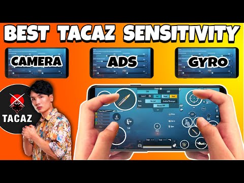 HOW TO PLAY LIKE TACAZ?   BEST NEW 4 FINGER SETTINGS & SENSITIVITY EVER   PUBG MOBILE from YouTube · Duration:  11 minutes 22 seconds