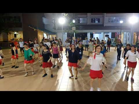 Como Yo—Christmas Line Dance Party 9 Dec 2017 @ Tampines Changkat Zone 4 RC