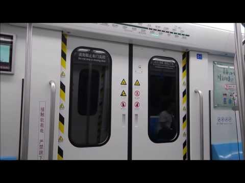 【中国】青島地下鉄に乗ってみた - Qingdao Metro Line 3
