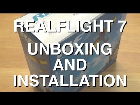 RealFlight 7 (RF7) Part One : Unboxing, Installation, and Calibration