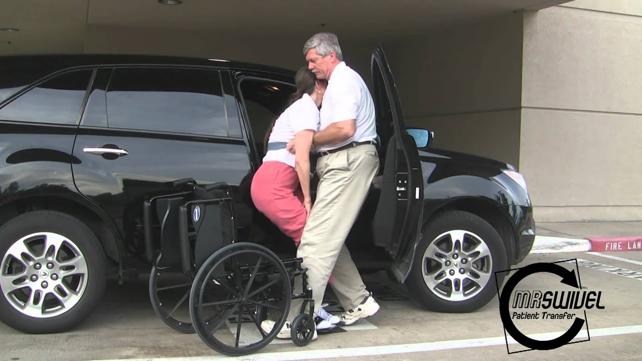 Wheelchair To Car Patient Transfer Youtube