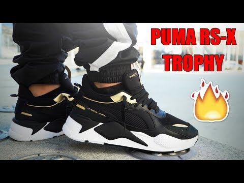 PUMA RS-X TROPHY REVIEW + ON FEET!!! - YouTube