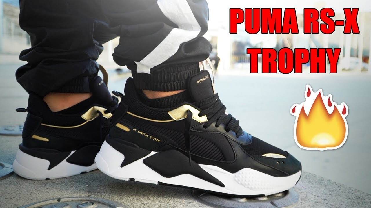 PUMA RS-X TROPHY REVIEW + ON FEET!!!