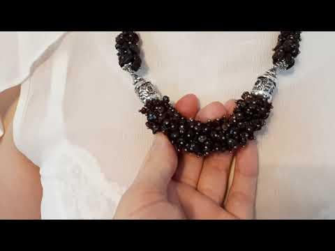 Бусы, сотуары, браслеты и серьги ручной работы из натуральных камней))))