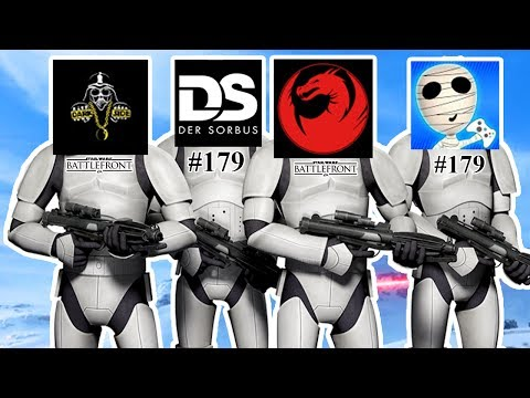 STAR WARS BATTLEFRONT #179 Mit DerSorbus+Darkside+Tombie 🐲Let's Play Star Wars Battlefront [Deutsch]