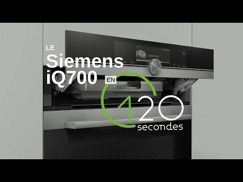 Test du four Siemens iQ700 en 120s !