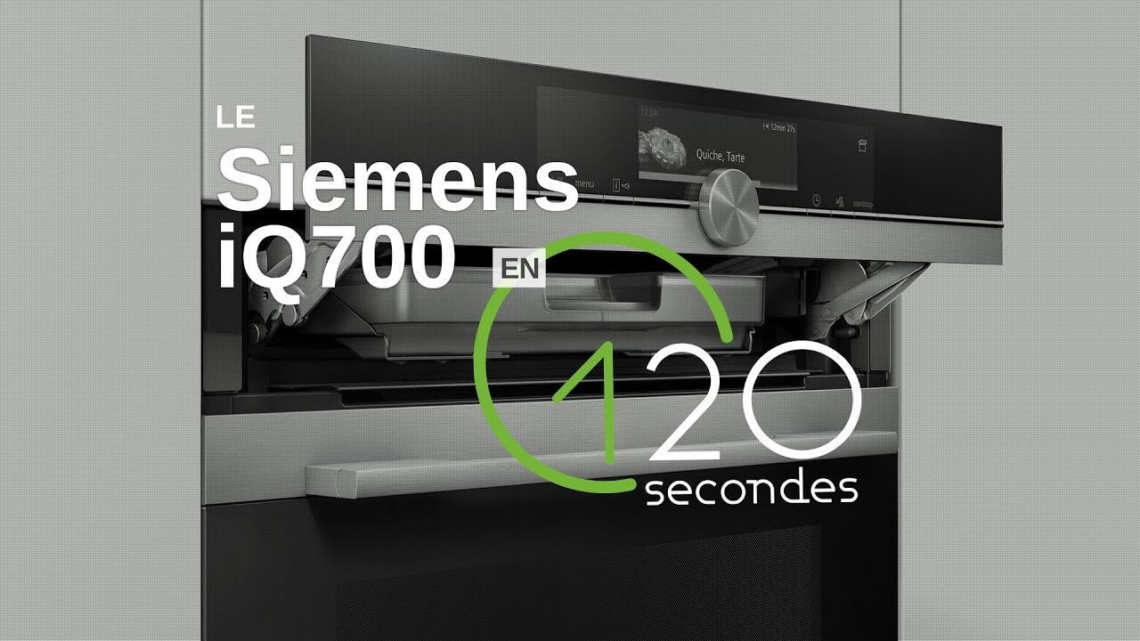 test du four siemens iq700 en 120s youtube. Black Bedroom Furniture Sets. Home Design Ideas
