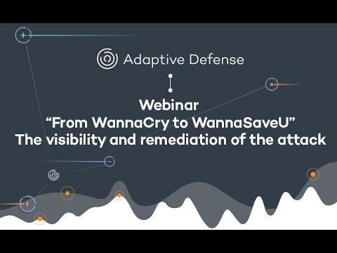 Webinar: From WannaCry to WannaSaveU - Panda Security