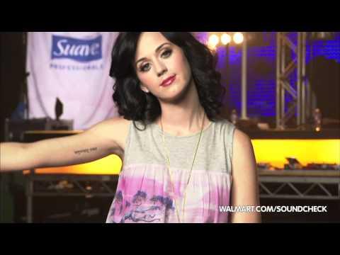 Katy Perry on Walmart Soundcheck: Tattoo