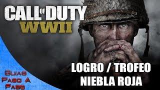Video de Call of Duty: WW2 (Zombis) | Logro / Trofeo: Niebla roja