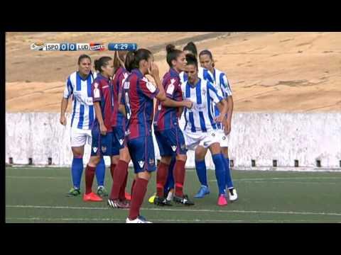 Liga de Primera División de Fútbol Femenino   Sporting de Huelva - Levante UD