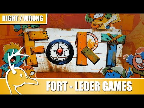 Fort - by Leder Games - Right For You / Wrong For you - (Quackalope Review)