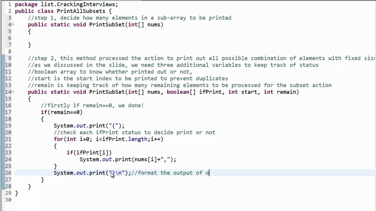 how to clear list in java