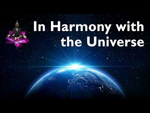 In Harmony with the Universe