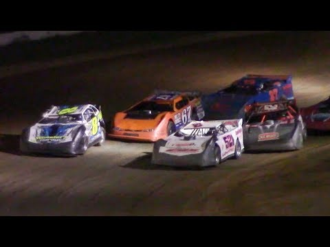RUSH Crate Late Model B-Main One | McKean County Family Raceway | 9-29-18