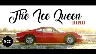 FERRARI 246 GT DINO 1972 - Test drive in top gear - V6 Engine sound! | SCC TV