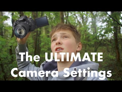 The Settings on a Young Filmmaker's camera
