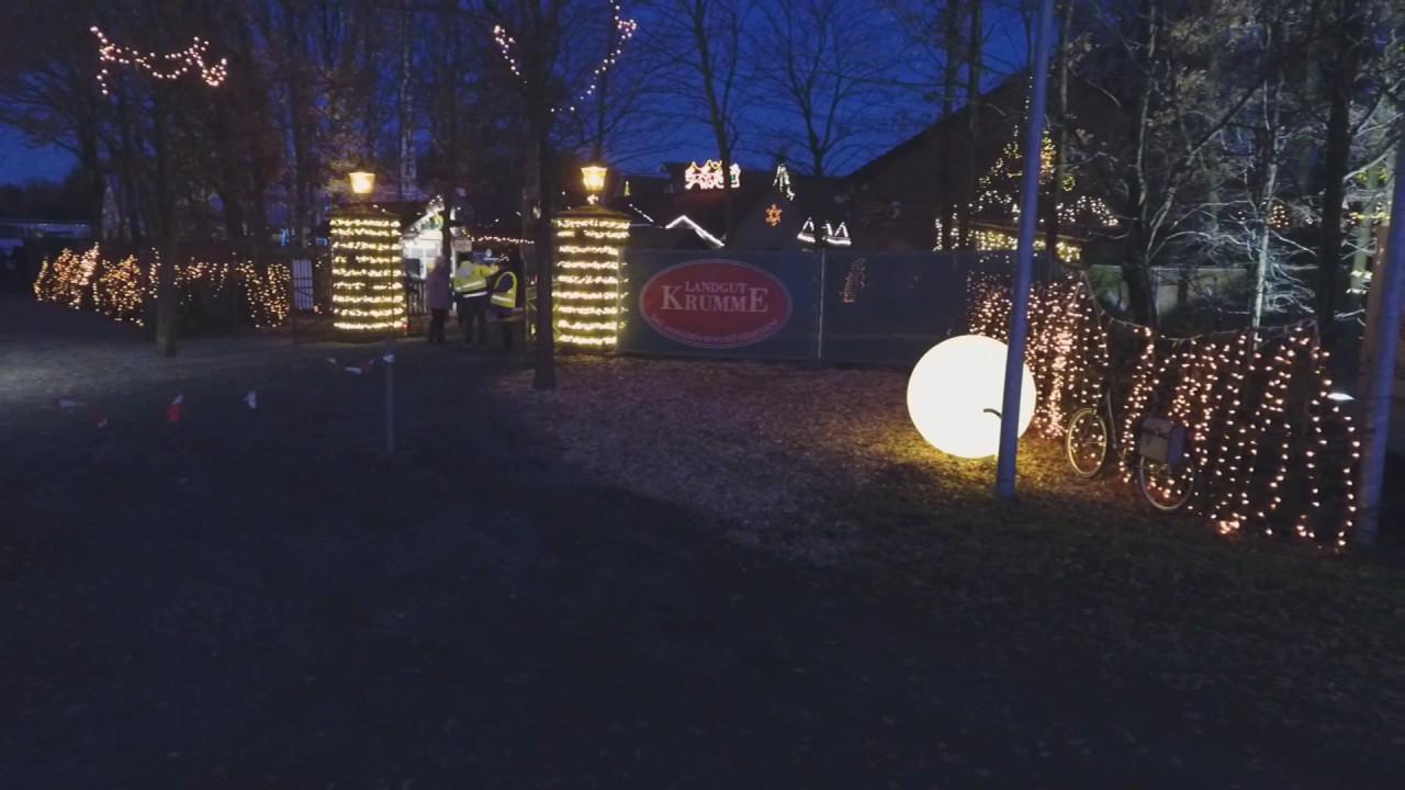 Nordvelener Waldweihnachtsmarkt Auf Dem Landgut Krumme 2016