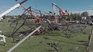 Storm damage -  Greenbank Road