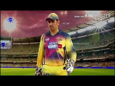 CSK Thala DHONI RETURNS in 2018...