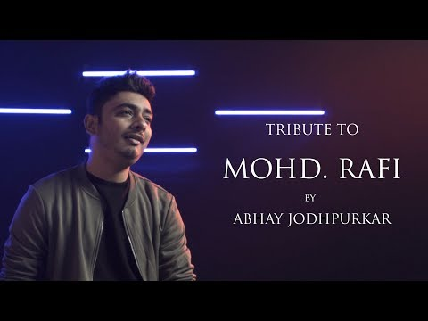 Tribute to #MohammedRafi | Abhay Jodhpurkar | Sandeep Thakur | Latest Cover Songs | Cover Mash-up