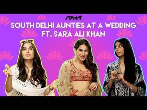 iDIVA - South Delhi Aunties Met Sara Ali Khan At A Wedding