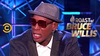 Dennis Rodman Wants Bruce to Pay Up - Roast of Bruce Willis - Uncensored