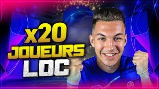 FIFA 19 - PACK OPENING 20 JOUEURS LIGUE DES CHAMPIONS !