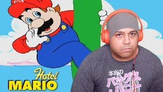 REACTING TO THE WORST MARIO GAME EVER MADE [HOTEL MARIO]
