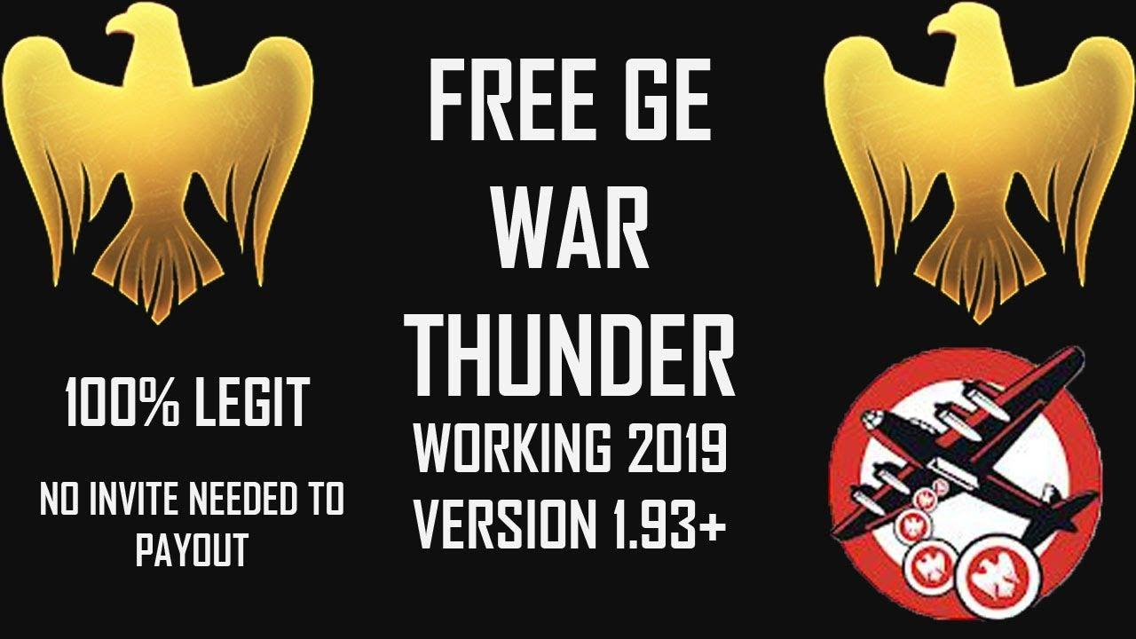 war thunder get free golden eagles