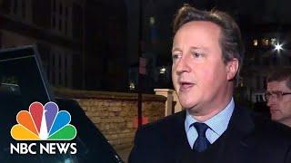 David Cameron On Brexit: 'I Don't Regret Calling The Referendum' | NBC News