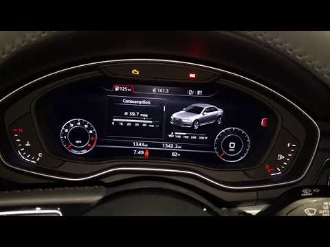 2018 Audi A4 Manual Transmission