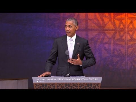 Obama opens new African American Museum