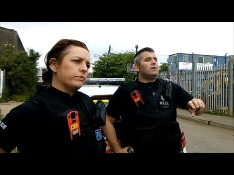 police intimidation fail so call the police pt2 raw video