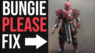 These Two Changes Would Make Destiny 2 Armor Amazing!