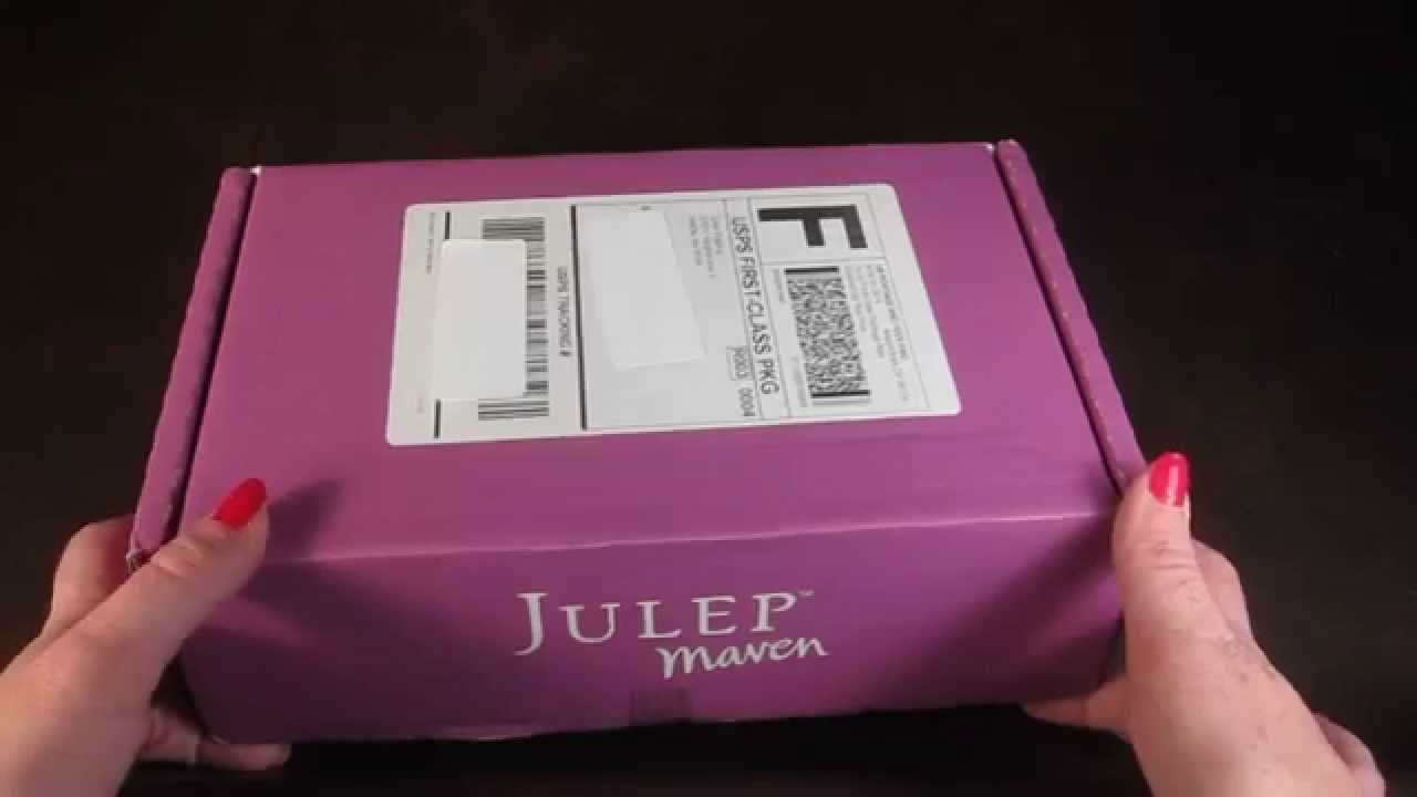 May Julep Maven Box - Plie Wand - Free Box - Nail Polish ...