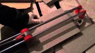 видео Нарезка керамической плитки
