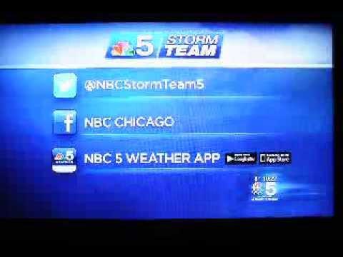 Cheryi Scott Sneeze Live on Air NBC 5 CHICAGO 1 12-30-13