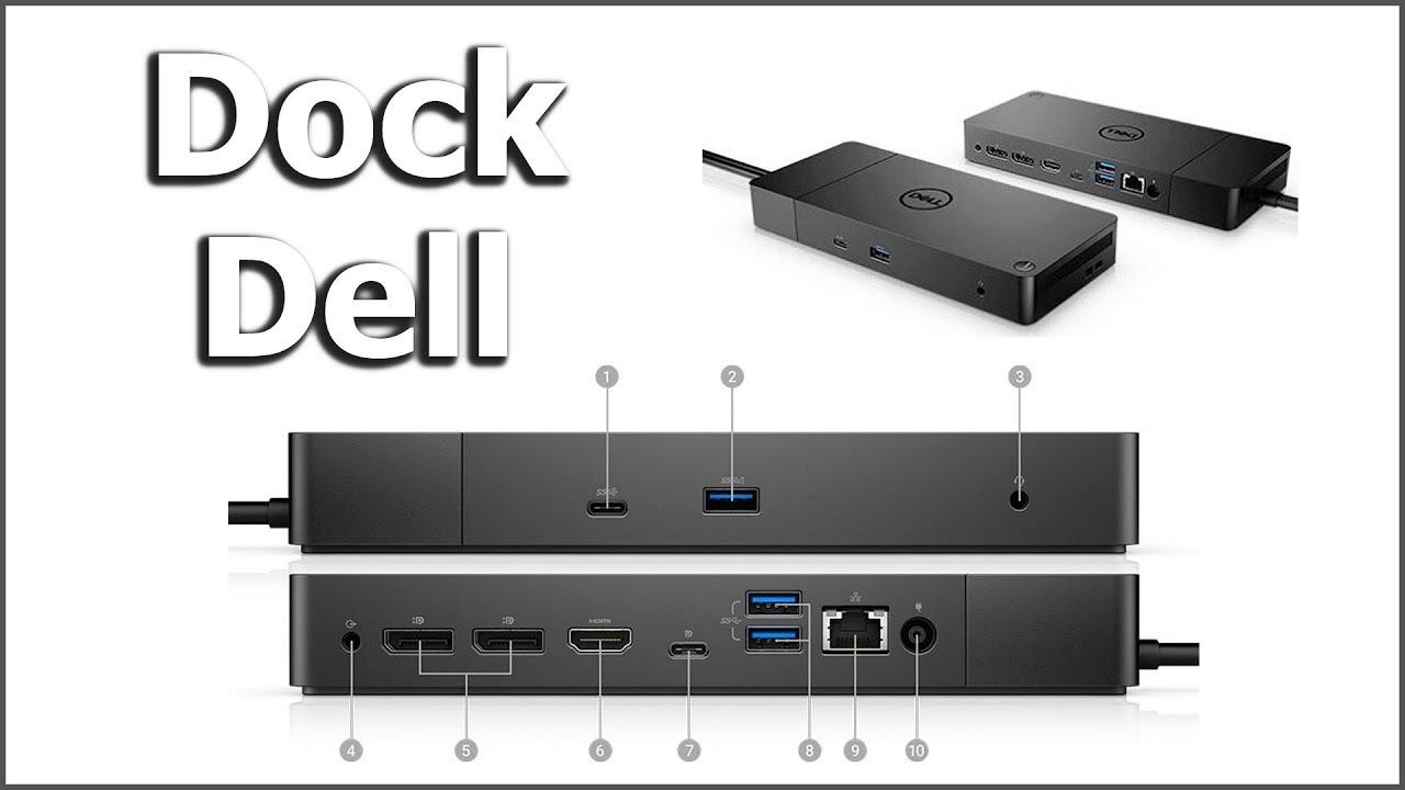 Se você é profissional, tem de ver isso: Dock Station Dell Thunderbolt 3  Wd19tb