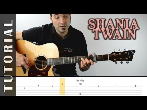 How to play Still the one I Shania Twain I  FREE PDF | EASY Tutorial CHORDS