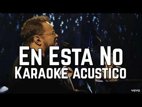 En Esta No - Sin Bandera - Karaoke Acustico Piano