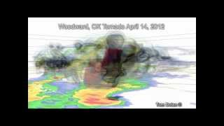 Woodward OK Tornado Radar Analysis 04-14-2012