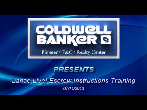 Lance Martin Presents Escrow Instructions 2013 Youtube